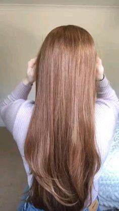 Easy Bun Hairstyles, Cute Hairstyles For Medium Hair, Braided Hairstyles Tutorials, Hair Up Styles, Medium Hair Styles, Braids For Long Hair, Wavy Hair, Hair Hacks, Hair Care