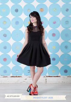 Starlit Statement Dress, #ModCloth