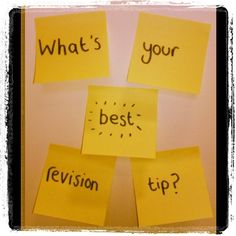 What's your best revision tip? #ucas