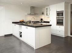 houten keuken wit met 2 ovens Interior Design Kitchen, Kitchen Decor, Bespoke Kitchens, Indian Home Decor, Dream Rooms, Wine Fridge, Home Kitchens, Sweet Home, New Homes