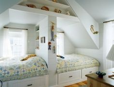 Thumbs up down? What do you think of this attic bedroom?