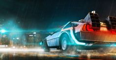 back to the future movie 4k ultra hd wallpaper
