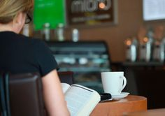 A good book always deserves a good drink.  #Espresso #Latte #Coffee