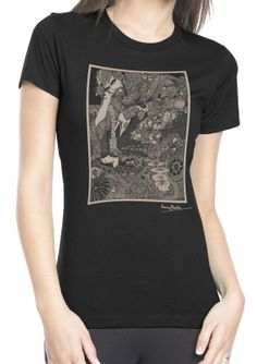 Ladies' Harry Clarke Morella T Shirt by ClosetOfMysteries on Etsy.