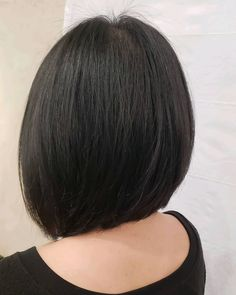 Layered hair is great but there is something about a blunt cut that just works. Having your hair all the same length can really make it easier to styl... Bob Cuts, Blunt Cuts, Blunt Hair, Layered Hair, Your Hair, Short Hair Styles, How To Make, Bob Styles, Wedge Bob Haircuts