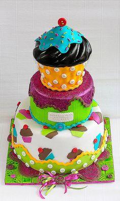 Cupcake By Leapula Via Flickr Cupcakes Decorados 23rd Birthday Cake Breakfast