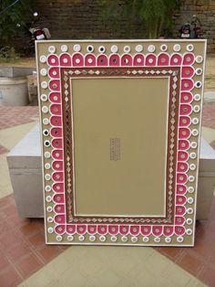Shakti art mud & mirror work & color designer Mirror Crafts, Mirror Art, Rajasthani Art, Clay Wall Art, Pottery Painting Designs, Clay Art Projects, Indian Folk Art, Madhubani Painting, Cow Art