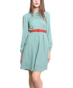 Look at this #zulilyfind! Blue Napa Dress by Titis Clothing #zulilyfinds