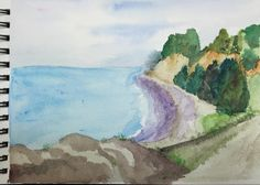 Watercolor Challenge May 2015 - New Zealand Coast - Page 2 - WetCanvas