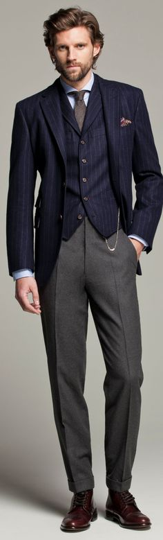 "mensstyleinspirationblog: ""Dapperfied.com - For the Dapper Gent in You. """