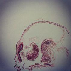 Skull #AndreasenArts #Skull