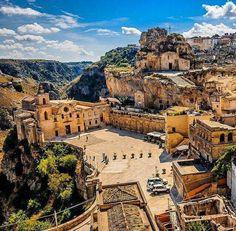Regione Basilicata Matera, Southern Italy