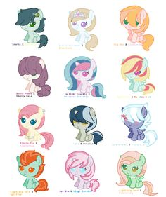 Most importantly, why do they have twilight and celestia toegether? And that includes all the other ones too.