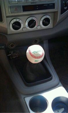 This ❤ #baseball I know a handsome boy will have this in his  car