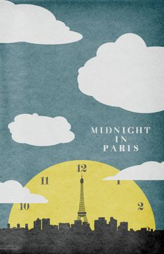 Midnight in Paris – Travis English  Love this poster - where can I get one?