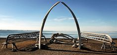 Barrow, Alaska: northernmost point in the U.S.; virtually 62 days without the sun; winter from October - May