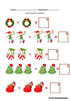 Cute Christmas Ideas, Christmas Projects, Winter Christmas, Preschool Worksheets, Preschool Crafts, Crafts For Kids, Arts And Crafts, Advent Calendar Activities, Pirate Kids