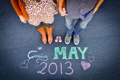 Best Pregnancy Announcement Ideas - Craftionary. We don't want kids for another few years but I had to pin this idea!