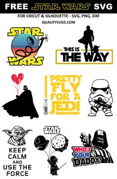 FREE Star Wars SVGs for Cricut and Silhouette