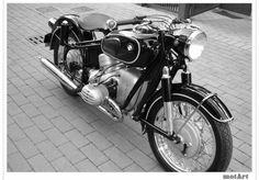 1960 BMW R50... via MotArt