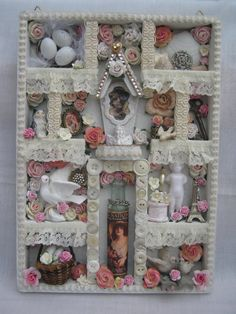 OOAK Handmade Vintage victorian style shabby by Nostalgiccrafter, £28.99