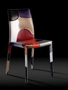 Patchwork stoel