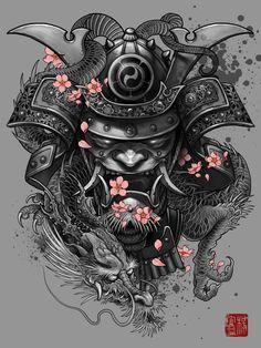 samurai tattoo - Google Search