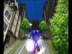 Sonic Adventure 2 - City Escape. Favorite level of the game and they made it the first for Sonic Aventure 2. #SonGokuKakarot