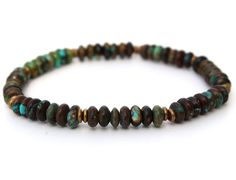 Men's Turquoise Bracelet by ITMensCollection on Etsy, $30.00