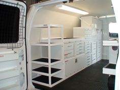 storage drawers for work vans - Google Search