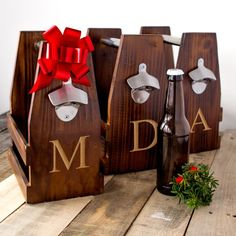 If you are a home brewer, then this high quality beer carrying case is an ideal way to present your latest creation. Give it as a gift with your favorite drinks to share with friends and family!