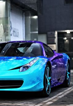 Ferrari 458 I just love the way the colour of the paint shimmers on the car!