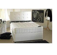 NEW MEMORY FOAM DIVAN BED MATTRESS  HEADBOARD 3FT 4FT6 DOUBLE 5FT KING SIZE