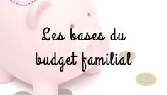 Vivre avec un petit budget - Organiser son quotidien Mon Budget, Organiser, Piggy Bank, Budgeting, Base, How To Plan, Hui, Budget Organization