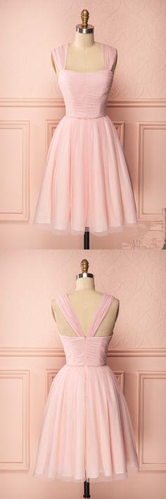 short pink prom dress, 2017 prom dress, pink prom dress, 2017 short homecoming dress, party dress