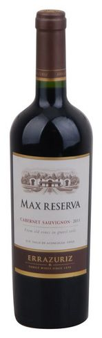 In stock - 13,89 € 2011 Errazuriz Max Reserva Cabernet Sauvignon, red dry , Chile - 88pt Colour of this wine is intense, ruby-red with attractive aroma of berries underlined by fresh, milled black pepper. Taste is nicely balanced with quiet tannins. Fruity component is in taste nice with spicy-chocolate tones of barrique. Aftertaste is long.