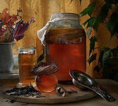 Как вырастить чайный гриб с нуля / Будьте здоровы