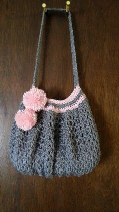 Easy #Crochet #handbag #purse #TUTORIAL Purse ideas. Lovely Purse. DIY handbag. DIY purses.