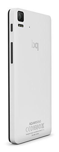 "BQ Aquaris E4.5 - Smartphone libre Android (pantalla 4.5"", cámara 8 Mp, 8 GB, Quad-Core 1.3 GHz, 1 GB RAM, Android 4.4 KitKat), blanco y negro"
