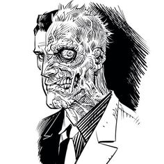 Two-Face by Cameron Stewart