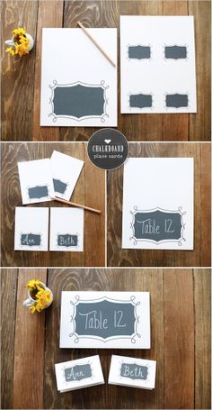 Budget wedding printables with timeline