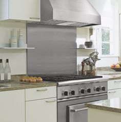 """View the Vent-A-Hood PRXH18-M36 36"""" Wall Mounted Range Hood with Single or Dual Blower Options and Halogen Lighting from the M Collection at Build.com."""