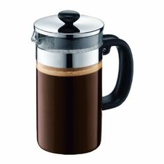 Bodum Shin Bistro 8 Cup Coffee Press - I love my French coffee press when camping out!