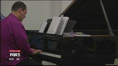 Playing the piano brings focus and joy to a Long Island man with autism.