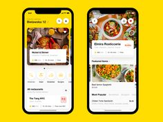 Food Delivery App. Restaurants by Eugene Olefir