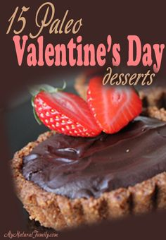 I have 25 of the best Paleo Valentine's Day dessert recipes that'll make your heart race. These recipes just make me want to kiss somebody. Paleo Dessert, Paleo Sweets, Dessert Recipes, Köstliche Desserts, Healthy Desserts, Delicious Desserts, Healthy Eats, Paleo Recipes, Real Food Recipes