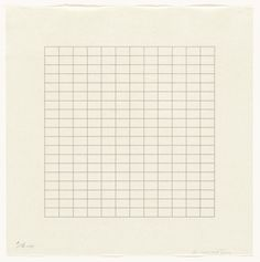 Untitled from the portfolio On a Clear Day. Ad Reinhardt, New York Painting, Conceptual Drawing, Agnes Martin, Barnett Newman, Ellsworth Kelly, On A Clear Day, Moma, Geometry