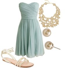 dresses with accessories  for a wedding