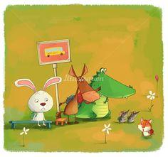 Xiao XIn, children's book illustrator