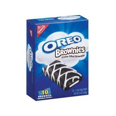 Nabisco Oreo Creme Filled Brownies, 1.5 oz, 10 count Walmart.com ❤ liked on Polyvore featuring food